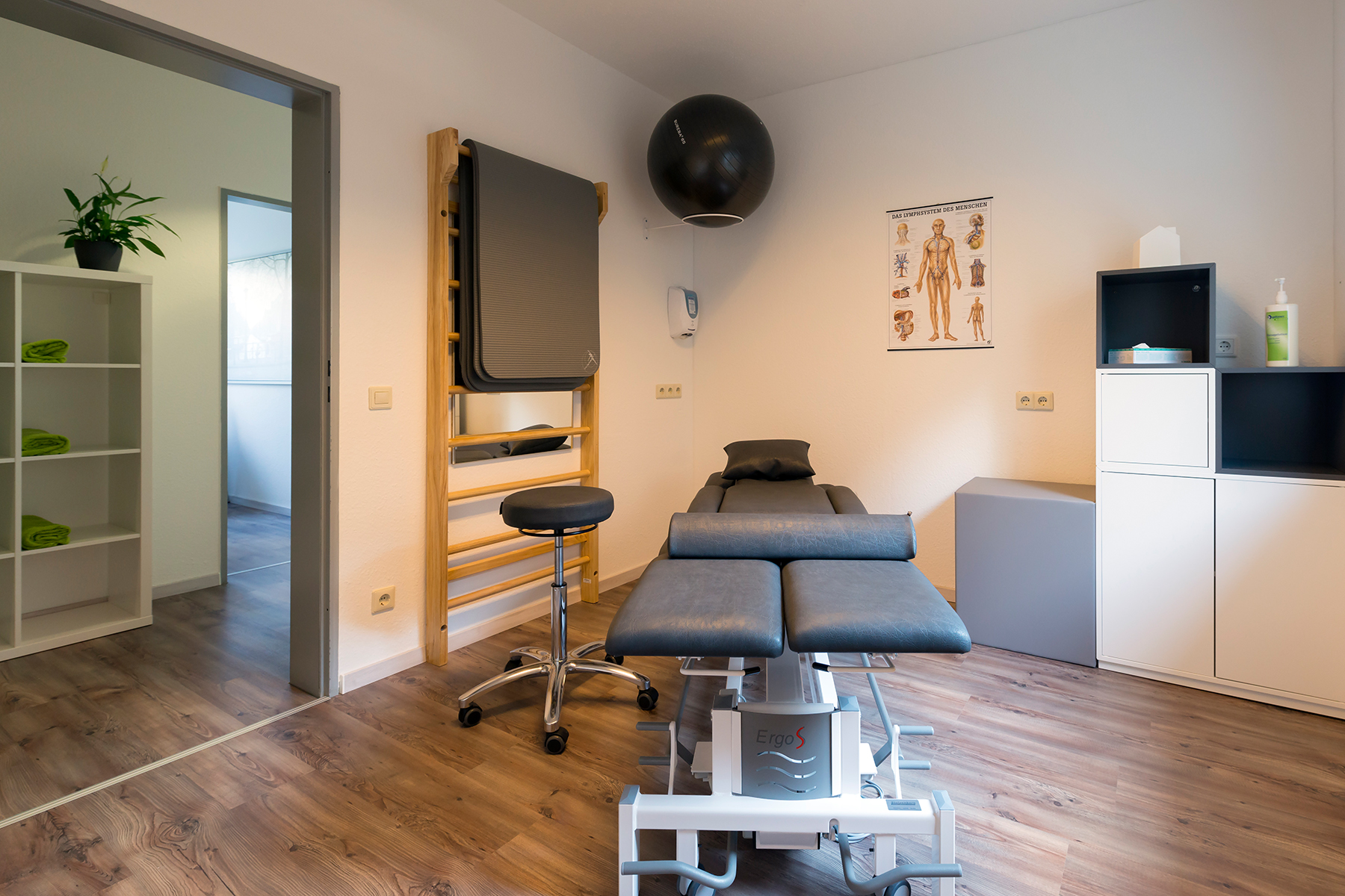 Therapieraum - Physiotherapie in Hamm Uentrop