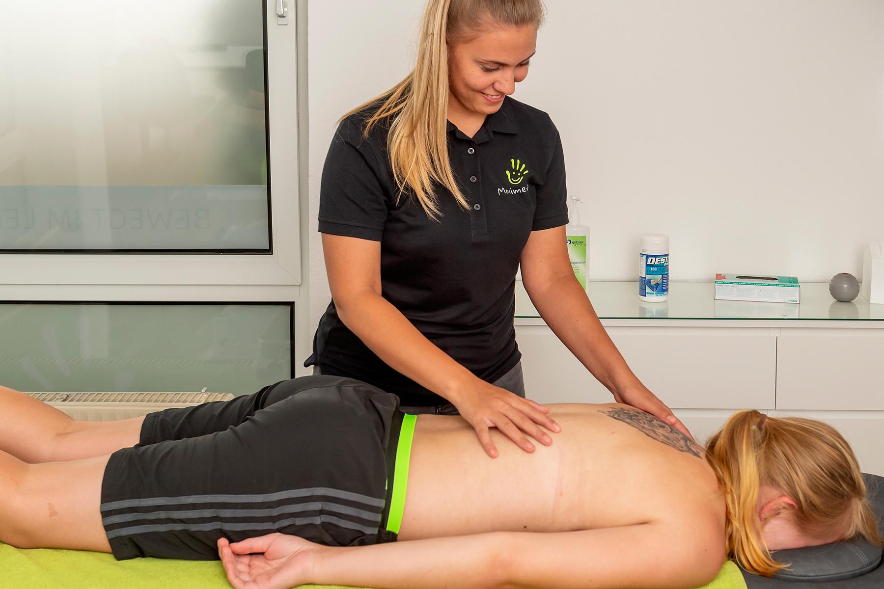 Physiotherapie - Angebote für Erwachsene